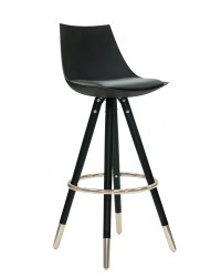 Orto Bar Stool (Set of Two) - Silver Ring
